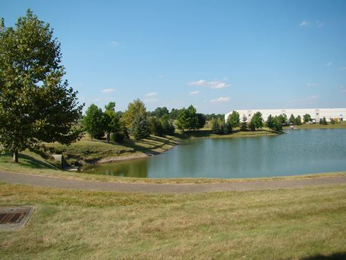 Greenpointe Business Park Looking Across the Lake